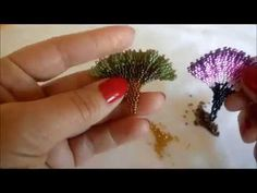 GİNKGO component - Not English but clear enough for Intermediate beaders ~ Seed Bead Tutorials خرز Seed Bead Bracelets Tutorials, Beaded Bracelets Tutorial, Beading Tutorials, Bracelet Designs, Beading Patterns Free, Seed Bead Patterns, Weaving Patterns, Seed Bead Earrings, Seed Beads