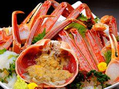新鮮な蟹をふんだんに使用したコースは3000円~ご用意!