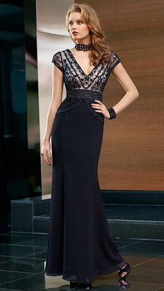 VM Collection Mother of the Bride Dress 70629 at frenchnovelty.com