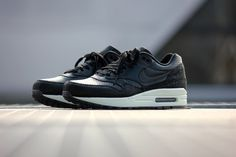 Nike Air Max 1 Leather PA Black-Black Stingray - 705007-001