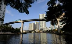 Miami's Metromover is undoubtedly the best free ride in Florida.