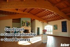 """Good trust = Good relationship = Good Business"" Well said, Stephan, you are quite right."