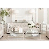 Weiß Wohnzimmer White Living Room Living Room White living room is a design that is very popular today. Design is All White Room, Living Room White, White Rooms, Formal Living Rooms, Home Living Room, Living Room Designs, Living Spaces, Modern Living, Elegant Living Room