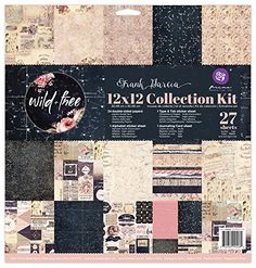 Prima Marketing 655350992262 12x12 Collection Kit  Wild  Free Art ** Check out the image by visiting the link.Note:It is affiliate link to Amazon.