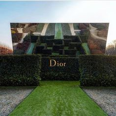 What one might call a truly aMAZEing backdrop at @dior's couture show at the @museerodinparis #diorcouture Bravo @alexdebetak!  via PORTER MAGAZINE OFFICIAL INSTAGRAM - Celebrity  Fashion  Haute Couture  Advertising  Culture  Beauty  Editorial Photography  Magazine Covers  Supermodels  Runway Models