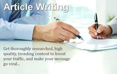Article Writing Jobs Online for Students in Pakistan