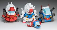 Blog_Paper_Toy_papercraft_Gundam_5cm_WXY_Paper