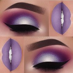 Stunning Lavender Purple Glittery Eye Makeup and Matte Lip Stick!  Purple Wedding   Purple Bridal Earrings   Purple Wedding Jewelry   Spring wedding   Spring inspo   Yellow    Silver   Spring wedding ideas   Spring wedding inspo   Spring wedding mood board   Spring wedding flowers   Spring wedding formal   Spring wedding outdoors   Inspirational   Beautiful   Decor   Makeup    Bride   Color Scheme   Tree   Flowers   Wedding Table   Decor   Inspiration   Great View   Picture Perfect   Cute…