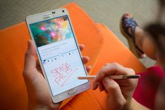 Getting started with the S Pen on the Samsung Galaxy Note 4