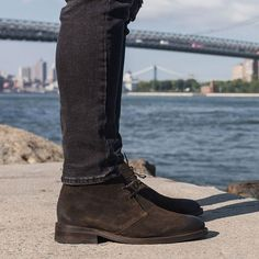 b7f7e64bbd69 Amazing color for work or play. Check out these suede Scout chukka Boots  from The Thursday Boot Company. These boots blend the classic British style  with an ...