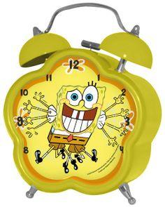 Parure de lit réversible Bob L'Eponge Nickelodeon Parure de lit enfant sur