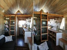 images of tiny house interiors | it their home the house measures only 127 square feet