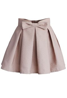 Sweet Your Heart Bowknot Pleated Mini Skirt in Pink - Skirt - Bottoms - Retro, Indie and Unique Fashion Brown Pleated Skirt, Pleated Shorts, Pleated Skirt Outfit Short, Baby Girl Dresses, Baby Dress, Chicwish Skirt, Kids Outfits, Cute Outfits, Mode Style