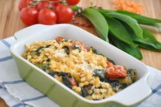 We Can't Get Enough Of This Cheesy Red Lentil And Corn Bake!
