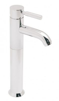 Vado Origins Extended Mono Basin Mixer Smooth Bodied Single Lever Deck Mounted Without Universal Waste - Tall Basin Monobloc Taps