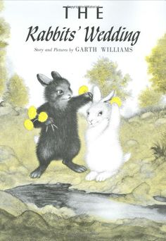 "my favorite book""The Rabbits'Wedding"""