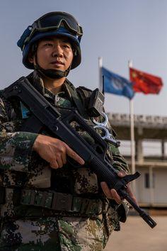 United Nations peacekeeper uniform