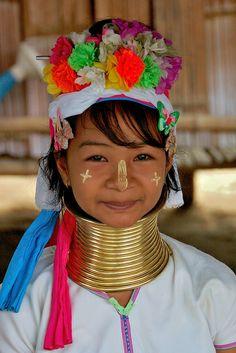 Thailand - karen hill tribe, Kayan Child | Flickr: Intercambio de fotos