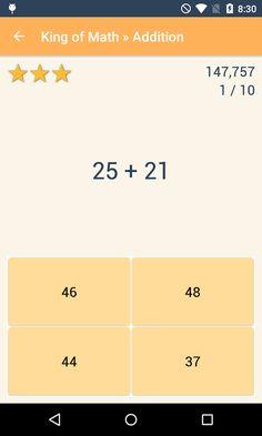 King of Math- screenshot