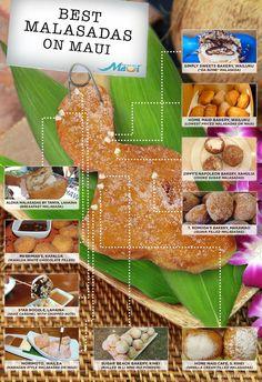 Freshly baked malasadas of Maui