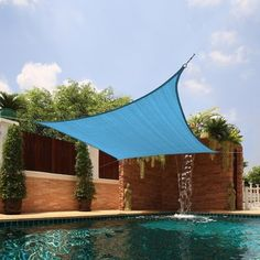 Medium Square Sail Sun Shade | Overstock.com Shopping - Big Discounts on Sunsails