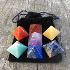 Hey, I found this really awesome Etsy listing at https://www.etsy.com/listing/179508266/pyramid-chakra-stone-set