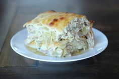 Maria's Nutritious and Delicious Journal: Protein Noodle White Lasagna