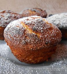 Gluten Free Recipes, Healthy Recipes, Hungarian Recipes, Hungarian Food, Sugar Free, Muffins, Food And Drink, Healthy Eating, Bread