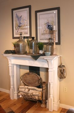 What will your mantel look like this Spring?