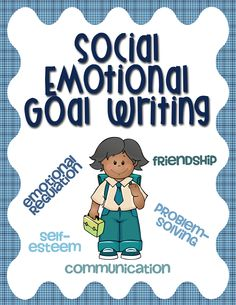 Social and emotional IEP goals can be difficult – we're not measuring words per minute, correct speech sounds, or math facts. Human behavior as a whole tends to be more subjective than many other skills students learn in school. However, it is possible to write great social emotional goals for students!