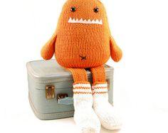 Sammie the Sock Monster Knitting Pattern