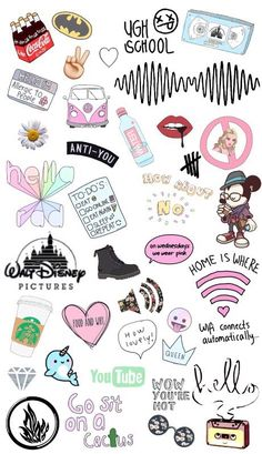 Hottest Images Printable Stickers emoji Style One of the (many) blessings in the web will be printables. Tumblr Stickers, Phone Stickers, Diy Stickers, Printable Stickers, Planner Stickers, Tumblr Wallpaper, Iphone Wallpaper, Aesthetic Stickers, Cute Drawings