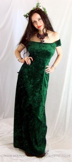 Moonmaiden Gothic Clothing - Faery Berry Dress