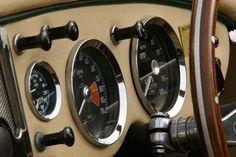 MGA interior Classic Car World Photos