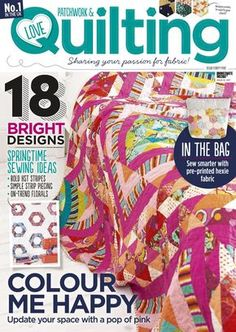 Love patchwork quilting 45 2017
