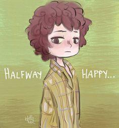 Stranger Things - Halfway Happy- Eleven by Hellenor.deviantart.com on @DeviantArt