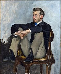 """"""" Portrait of Renoir Jean Frederic Bazille """" Jean Frederic Bazille France. Portrait of artist Pierre-Auguste Renoir, 1867 Art Painting, French Impressionist Painters, Pierre Auguste Renoir, Poster Prints, Painting, Art, Art Institute Of Chicago, Canvas Art, French Artists"""