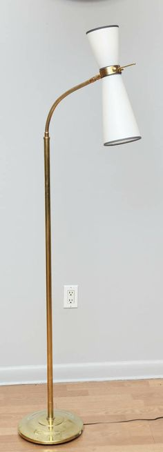 2dots design spotlight todd bracher studio light pinterest mid century two light flexible neck floor lamp pierre guariche mozeypictures Gallery