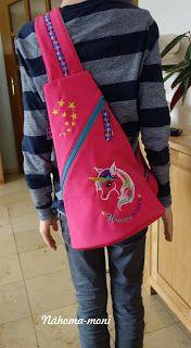 Naehoma - moni: Cross Bag Taschenspieler 2