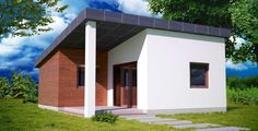 moderna chata 3D / little modern house