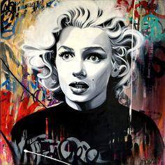 Marilyn,Julie Nicolle #artpeople