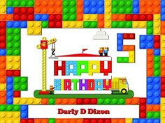 Block Banner Decoration Birthday Party Poster with Crane and Fire Truck size Birthday Banner Wall Dcor Handmade Party Supplies Poster Print 1000060 *** You can get additional details at the image link. Lego Party Decorations, Lego Birthday Party, Party Poster, Fire Trucks, Crane, Party Supplies, Image Link, Poster Prints, Banner