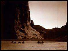 Canyon de Chelly, Navajo 1904 Edward Curtis