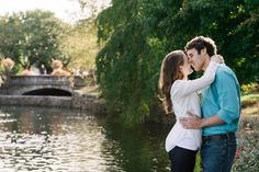 Percy Warner and Centennial Park Engagement: Anna + Rob | Doerman ...