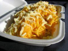 ultra cheese noodle...ramen, kraft mac & cheese dinner (or velveeta and shells), cheez whiz, shredded cheese, milk...mmm, cheesy goodness!