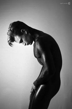 Male model Christian Smutny by International Artist Neil Curtis International Artist, Male Models, Macaroni, Whale, Fashion Models, Christian, Cheese, Animals, Men Models