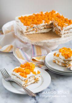 Mango Royale (Filipino Icebox Cake) | the little epicurean