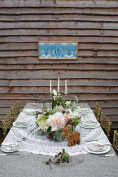 Rustic Woodland Wedding Inspiration and Ideas | Bridal Musings, The Blue Carrot