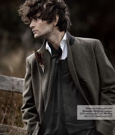 18th Century Inspired Menswear  5  This whole shoot is beautiful...