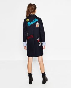 Image 6 of PATCH COAT from Zara